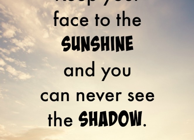 Sunshine Quote for Psoriasis