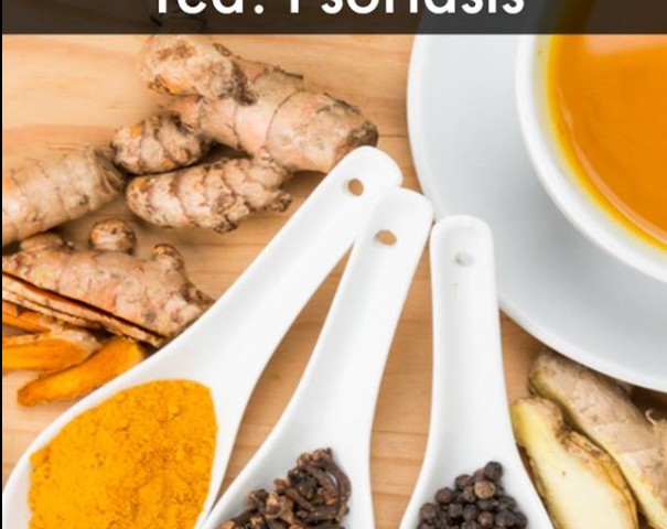 Psoriasis: Ginger and Turmeric Tea